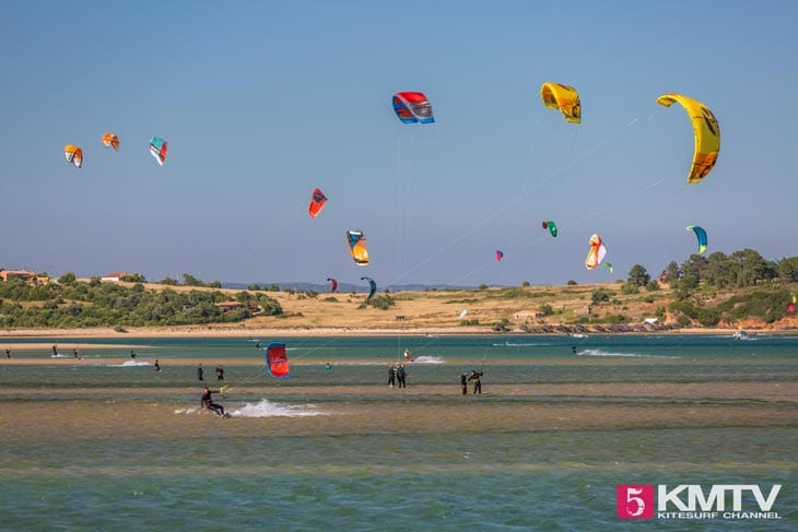 Vale do Lama - Algarve Portugal Kitereisen und Kitesurfen
