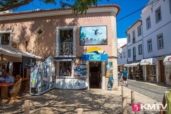 Lagos - Algarve Portugal Kitereisen und Kitesurfen