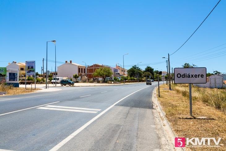 Odiaxere - Algarve Portugal Kitereisen und Kitesurfen