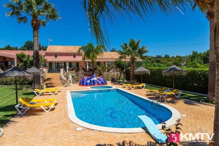 Quinta Nespereiras - Algarve Portugal Kitereisen und Kitesurfen