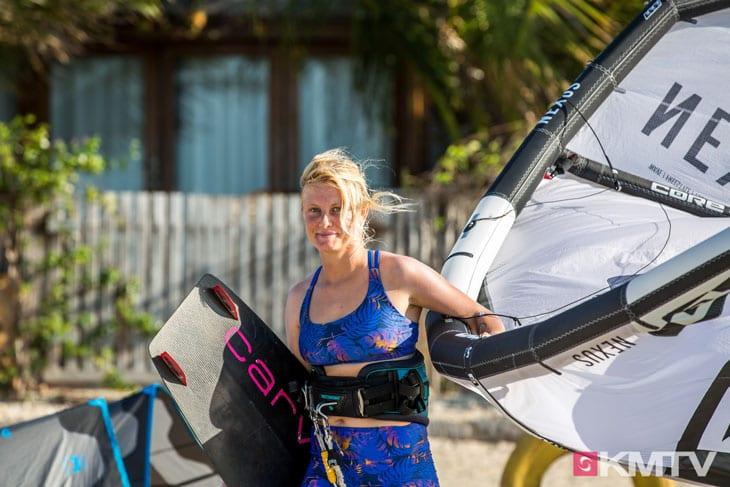 Lonia Häger - Tatajuba Brasilien Kitesurfen und Kitereisen