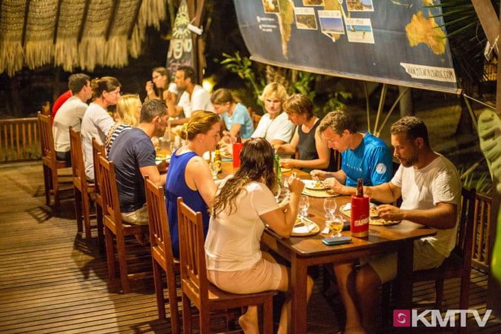 Abendessen - Tatajuba Brasilien Kitesurfen und Kitereisen