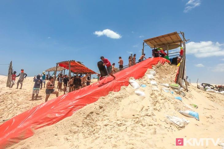 Wasserrutsche - Tatajuba Brasilien Kitesurfen und Kitereisen