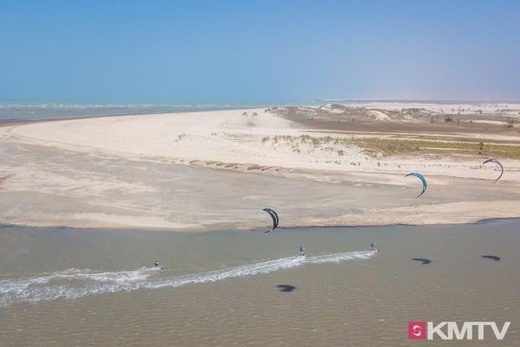 Downwinder - Tatajuba Brasilien Kitesurfen und Kitereisen