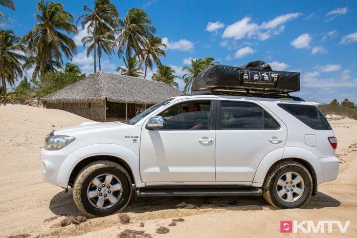 Transfer - Tatajuba Brasilien Kitesurfen und Kitereisen