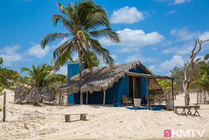 Hütte am Strand - Tatajuba Brasilien Kitesurfen und Kitereisen