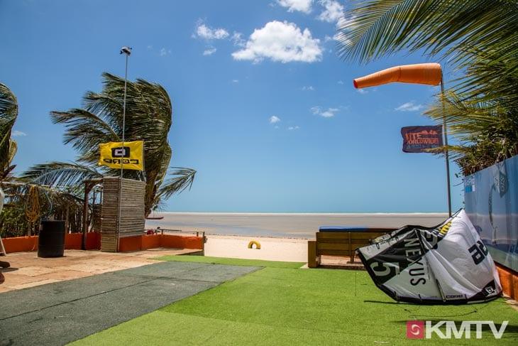 Kitestation - Tatajuba Brasilien Kitesurfen und Kitereisen