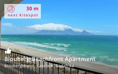 Blouberg Beachfront Apartment Kapstadt - Kitereisen und Kitesurfen