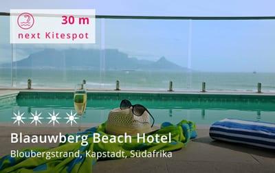 Blaauwberg Beach Hotel Kapstadt - Kitereisen und Kitesurfen