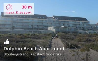 Dolphin Beach Apartment Kapstadt - Kitereisen und Kitesurfen