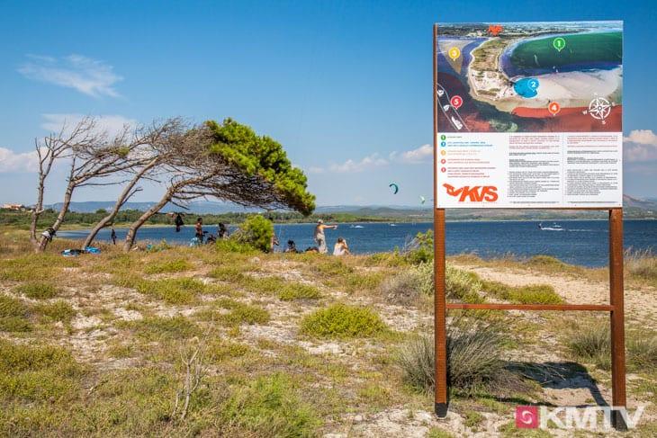 Kitespot Punta Trettu - Sardinien Kitereisen und Kitesurfen