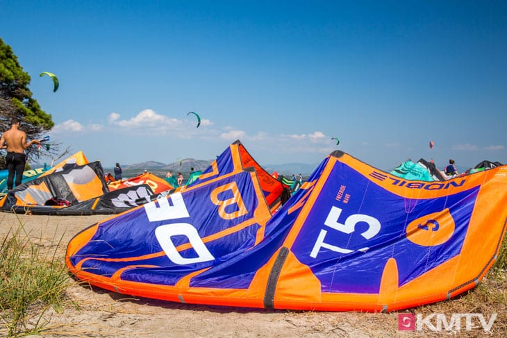 Nobile Kiteboarding - Sardinien Kitereisen und Kitesurfen