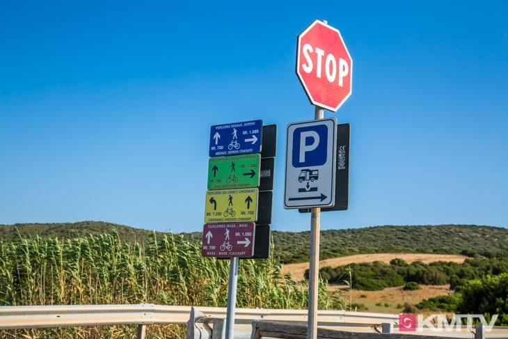 Kitespot Is Solinas - Sardinien Kitereisen und Kitesurfen