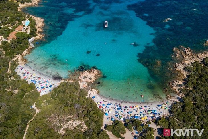 Costa Smeralda - Sardinien Kitereisen und Kitesurfen