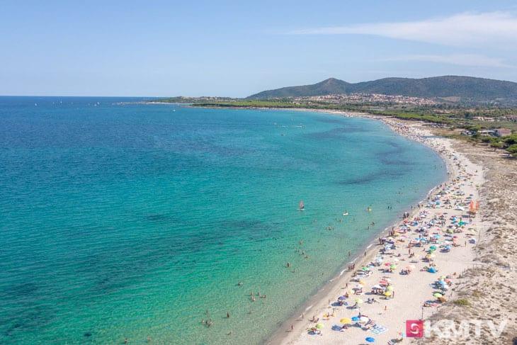 Budoni Beach - Sardinien Kitereisen und Kitesurfen