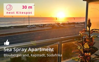 Sea Spray Apartment Mountain & Sea views Kapstadt - Kitereisen und Kitesurfen