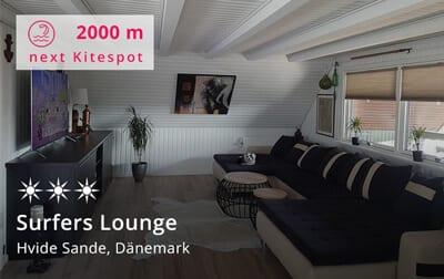Surfers Lounge - Kitereisen Hvide Sande, Dänemark