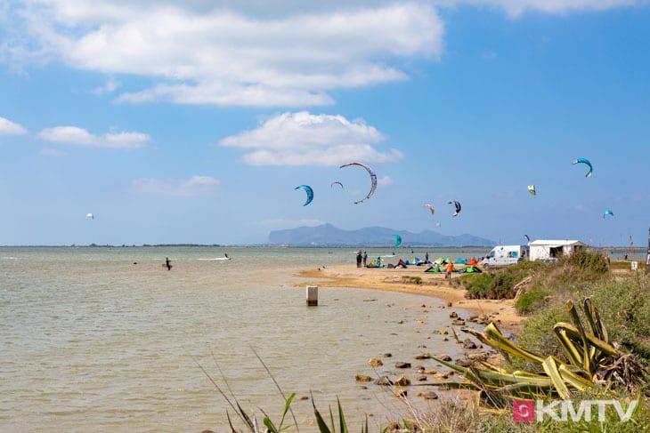 Kitespot Torre Loopa - Marsala Sizilien Kitereisen und Kitesurfen