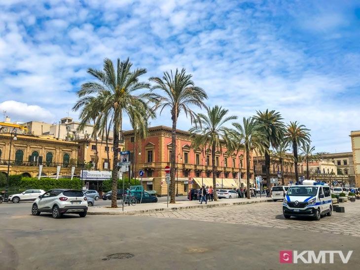 Palermo - Lo Stagnone Sizilien Kitereisen und Kitesurfen