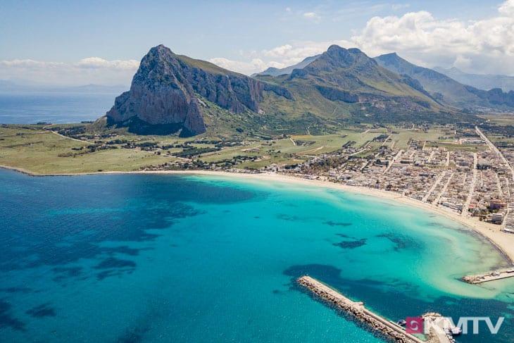 San Vito lo Capo - Lo Stagnone Sizilien Kitereisen und Kitesurfen
