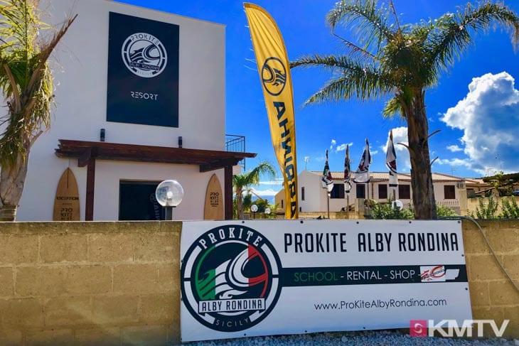 Prokite Alby Rondina - Marsala Sizilien Kitereisen und Kitesurfen