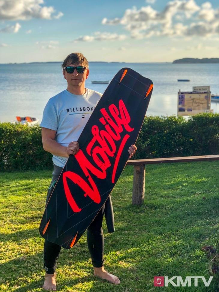 Denis Nobile Kiteboard - Lo Stagnone Sizilien Kitereisen und Kitesurfen
