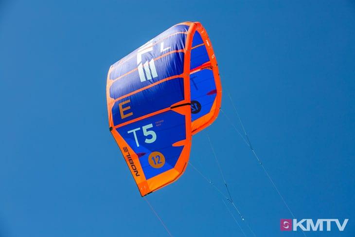 Kitegrösse - Foilen lernen beim Kiten