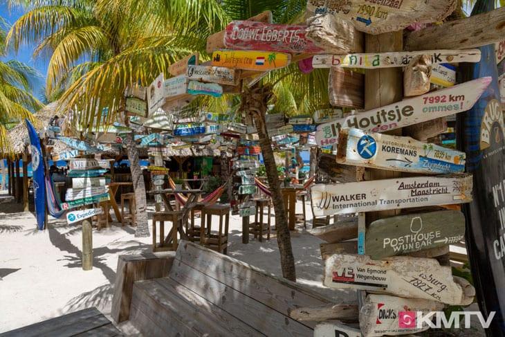 Chill & Gril Bar - Curacao Kitereisen und Kitesurfen
