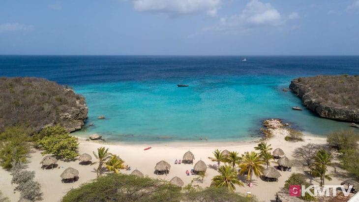 Daaibooibaai Beach - Curacao Kitereisen und Kitesurfen