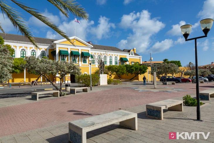 Gouverneurspalast - Curacao Kitereisen und Kitesurfen