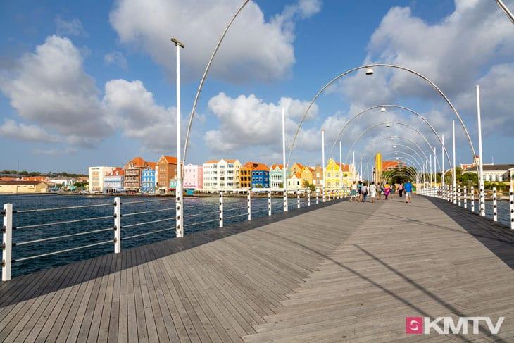 Königin Emma Brücke - Curacao Kitereisen und Kitesurfen