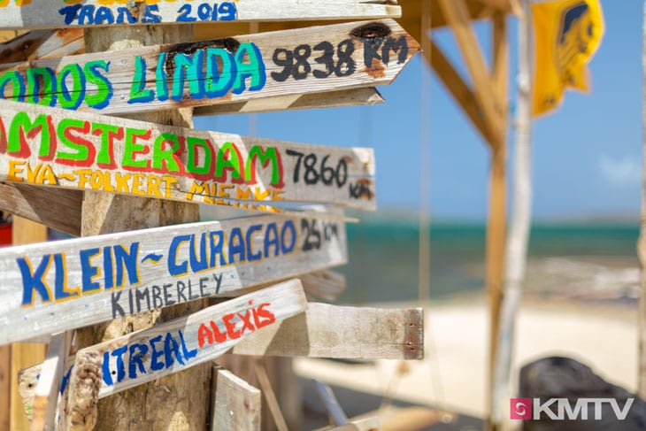 Klein Curacao - Curacao Kitereisen und Kitesurfen