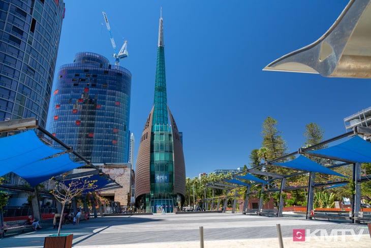 Bell Tower - Perth Kitereisen und Kitesurfen