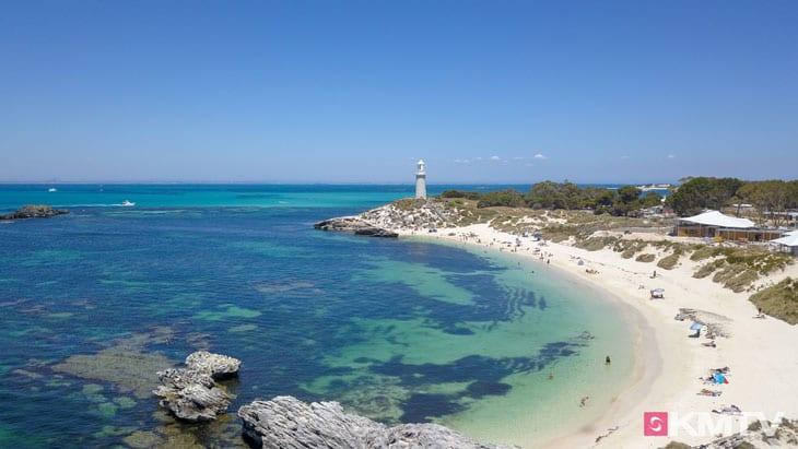 Rottnest Island - Perth Kitereisen und Kitesurfen