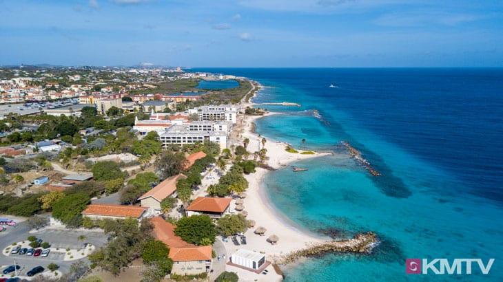 Piscadera Beach - Curacao Kitereisen und Kitesurfen