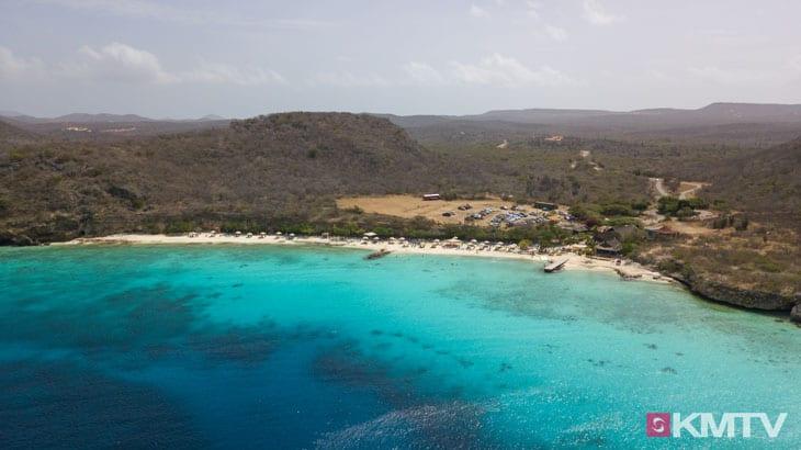Playa Porto Marie - Curacao Kitereisen und Kitesurfen
