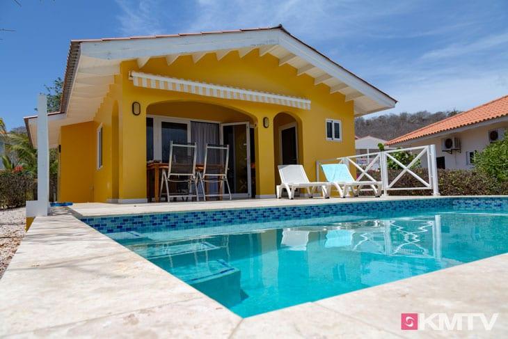 Poolvilla - Curacao Kitereisen und Kitesurfen