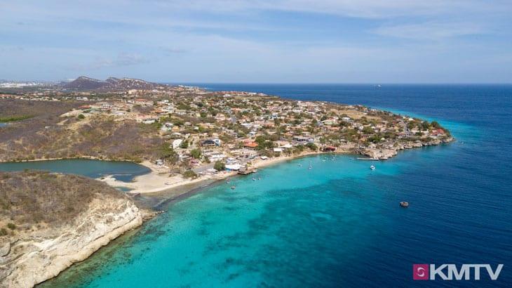 Sint Michiel Beach - Curacao Kitereisen und Kitesurfen