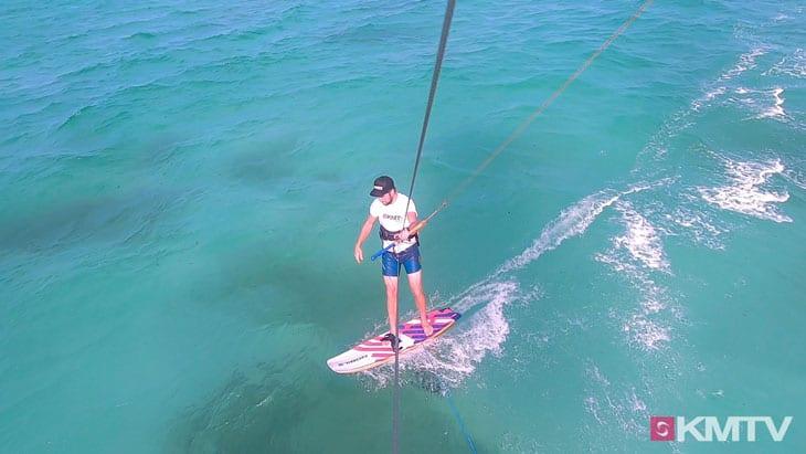 Geschwindigkeit verringern - Foilen lernen beim Kiten