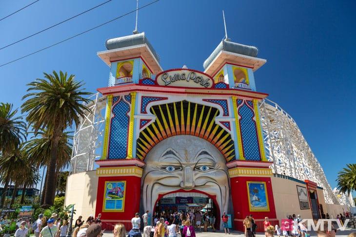 Luna Park - Melbourne Kitereisen und Kitesurfen