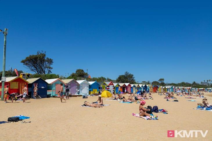 Brighton Beach Boxes - Melbourne Kitereisen und Kitesurfen