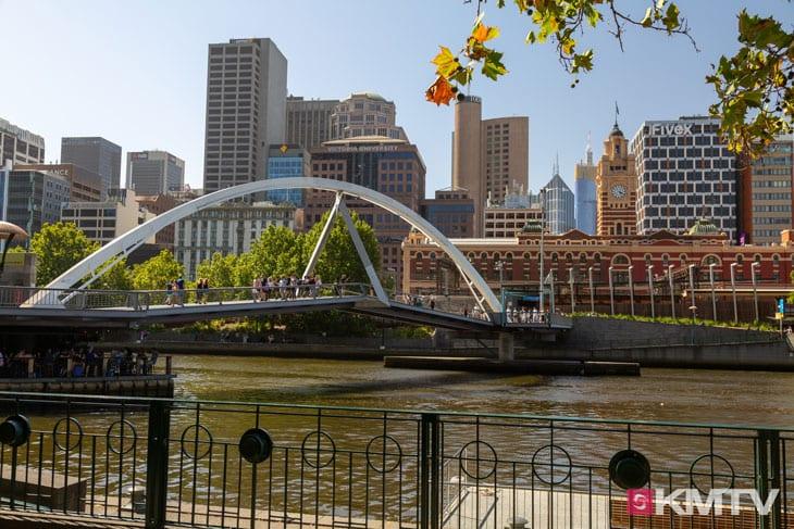 Southbank Promenade - Melbourne Kitereisen und Kitesurfen