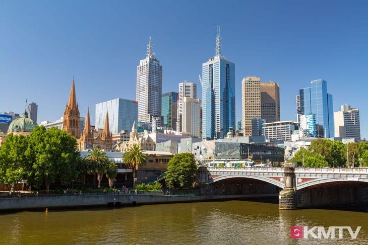 Skyline - Melbourne Kitereisen und Kitesurfen