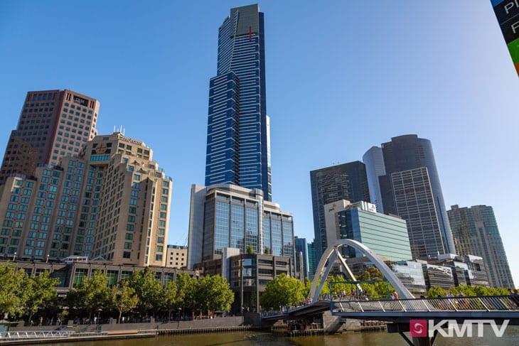 Eureka Tower - Melbourne Kitereisen und Kitesurfen