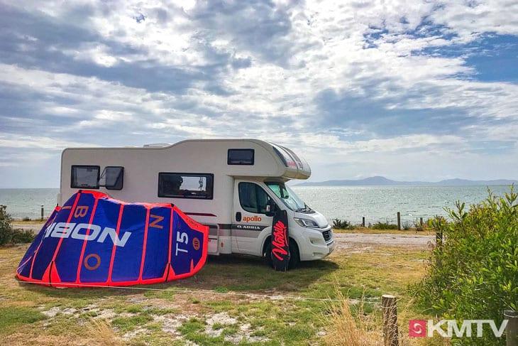 Wohnmobil - Melbourne Kitereisen und Kitesurfen
