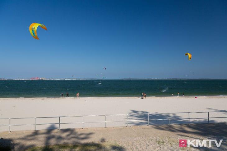 Kitespot First Groyne- Sydney Kitesurfen und Kitereisen