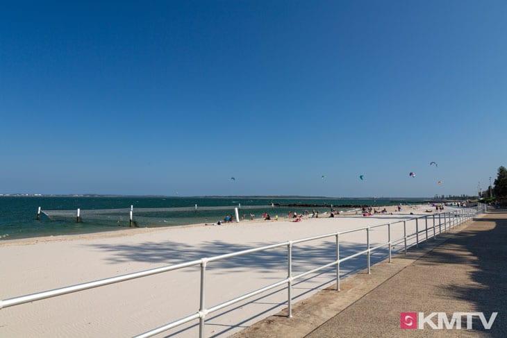 Kitespot First Groyne - Sydney Kitesurfen und Kitereisen