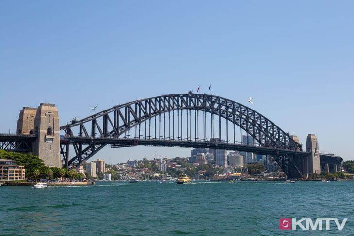 Harbour Bridge - Sydney Kitesurfen und Kitereisen