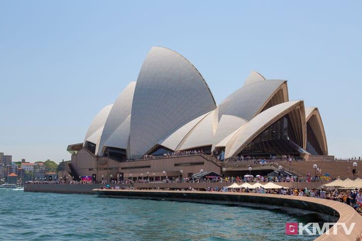 Sydney Oper - Sydney Kitesurfen und Kitereisen