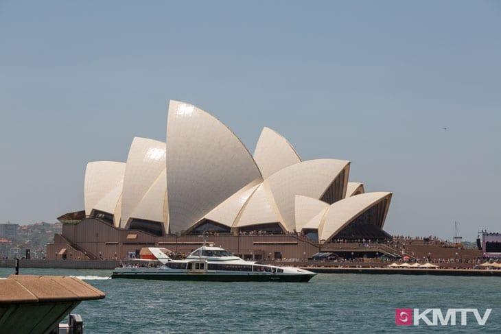 Sydney Opernhaus - Sydney Kitesurfen und Kitereisen